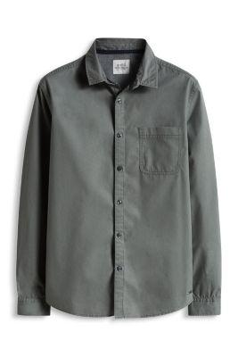 Esprit / Chemise basique, 100 % coton