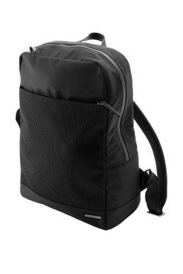 Esprit / Ribstop Rucksack mit gummiertem Effekt