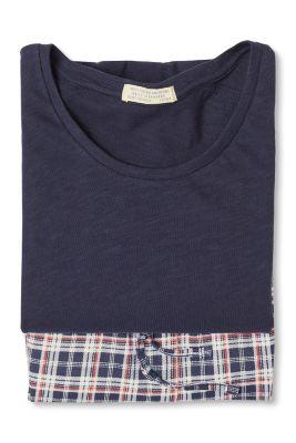 Esprit / Jerseypyjamas af 100 % bomuld