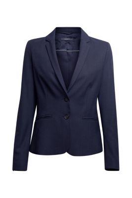 Esprit / Business Blazer mit Hornknöpfen