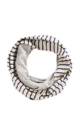 Esprit / Baumwoll Loop Schal, Double Face Jersey