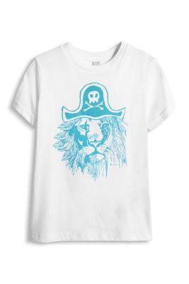 Esprit / Piraten Print T-Shirt, 100% Baumwolle