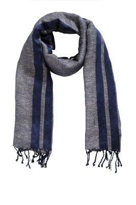 Esprit / Leichter Schal aus kühlem Leinen-Mix