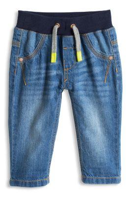 Esprit / Leichte Jeans mit elastischem Rippbund