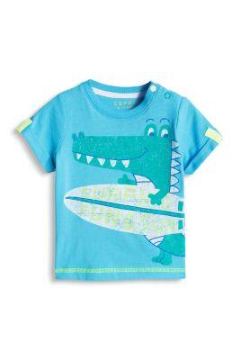 Esprit / Baumwoll Jersey T-Shirt mit Fun-Print