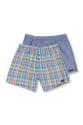 Esprit / Shorts i en pk. m. 2 stk, 100% bomuld