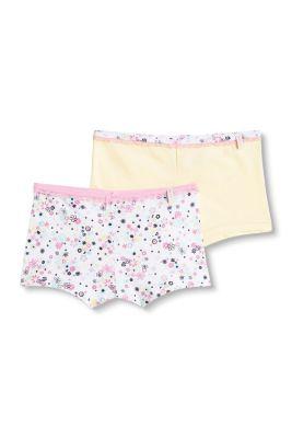 Esprit / Shorts im Doppelpack, 100% Baumwolle