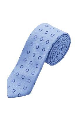Esprit / Krawatte mit Print, 100% Baumwolle