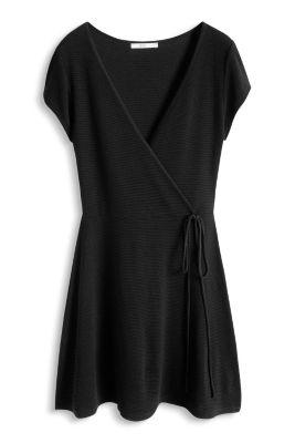 Esprit / Kleid aus geripptem Jersey