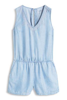Esprit / Flowing denim jumpsuit