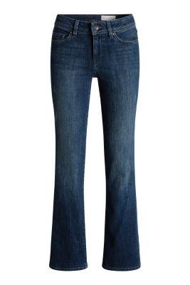 Esprit / Bootcut-Jeans mit Used-Effekten