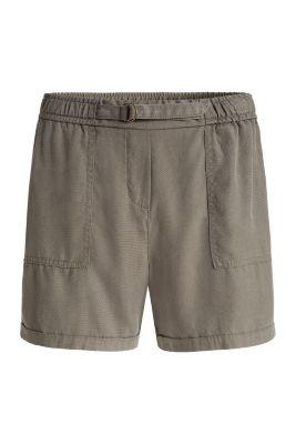 Esprit / Levende shorts med fin struktur