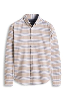 Esprit / Skjorte med tværstriber, 100% bomuld