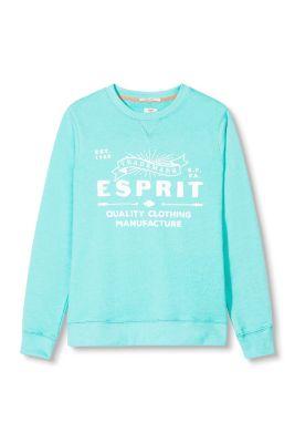 Esprit / Baumwoll-Mix Sweatshirt mit Logo-Prints