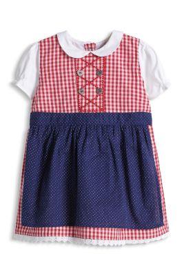 Esprit / Kleid im Dirndl-Look, 100% Baumwolle