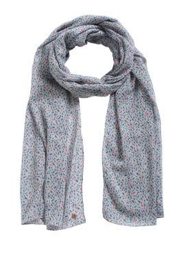 Esprit / stroke printed scarf