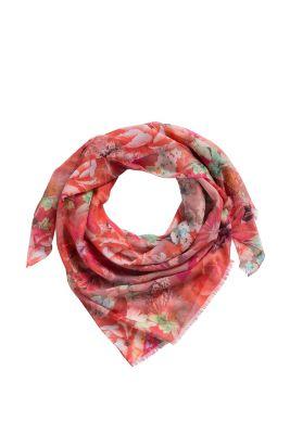 Esprit / Feiner Schal mit floralem Druck
