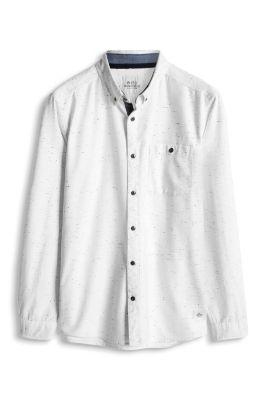 Esprit / Langarm-Hemd, 100% Baumwolle