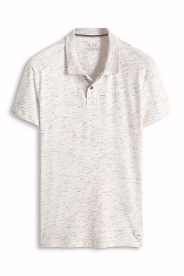 Esprit / Melange jersey polo shirt