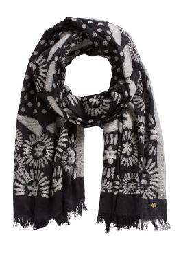 Esprit / Schal aus 100% Baumwolle