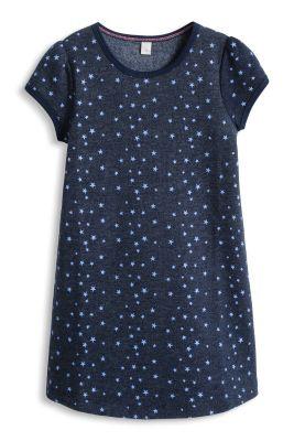 Esprit / Sweat Kleid mit Sternchen-Print