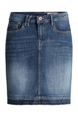Esprit / Jeans-Rock mit Konstrastsaum