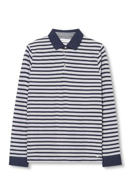 Esprit / long sleeved polo shirt