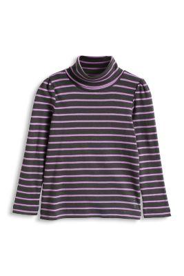 Esprit / Shirt Rolli aus Ripp, 100% Baumwolle