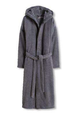 Esprit / Luxuriöser Bademantel, 100% Baumwolle