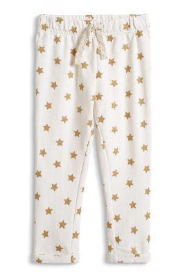 Esprit / Sweat Hose mit goldenen Glitter Sternen