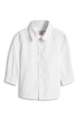 Esprit / Weißes Basic Hemd, 100% Baumwolle
