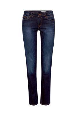 Esprit / Gewaschene Basic Stretch-Jeans