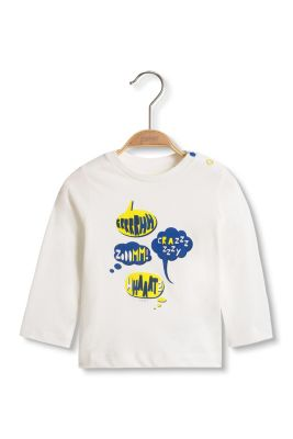 Esprit / T-shirt manches longues à imprimés B.D.