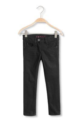 Esprit / Schwarze Stretch-Jeans mit Verstellbund